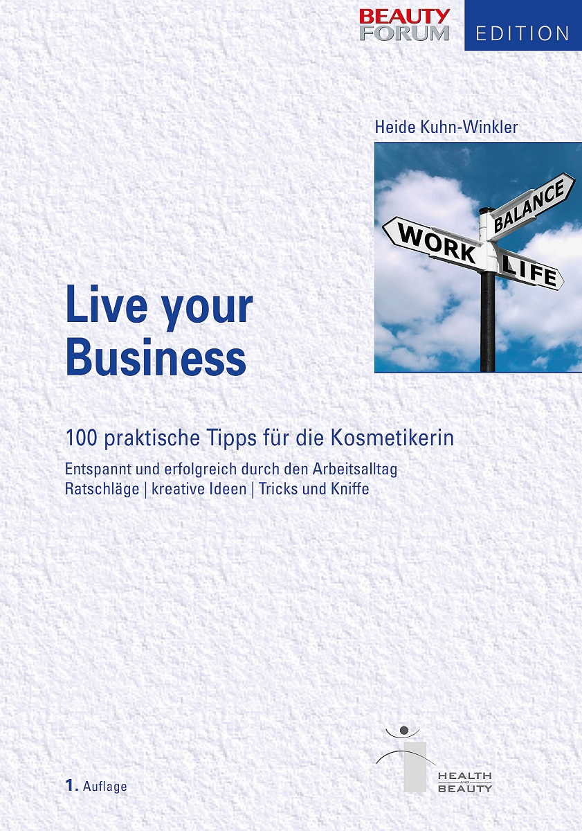 """Cover vom Buch """"Live your Business"""""""