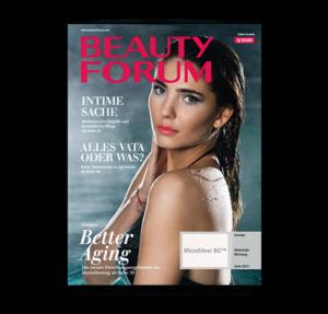 Kosmetik Fachzeitschrift BEAUTY FORUM Austria Print Abonnement