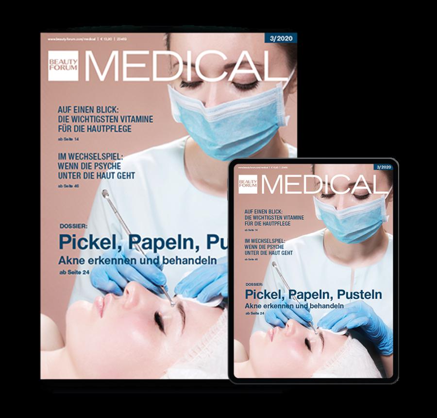 Medical Beauty Premium Abo BEAUTY FORUM MEDICAL Digital und Print