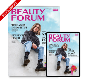 Kosmetik Fachzeitschrift Schülerabo BEAUTY FORUM
