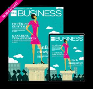 Marketing Schülerabo BEAUTY FORUM BUSINESS