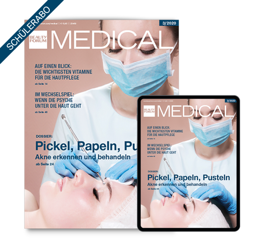Medical Beauty Schüler Abo BEAUTY FORUM MEDICAL