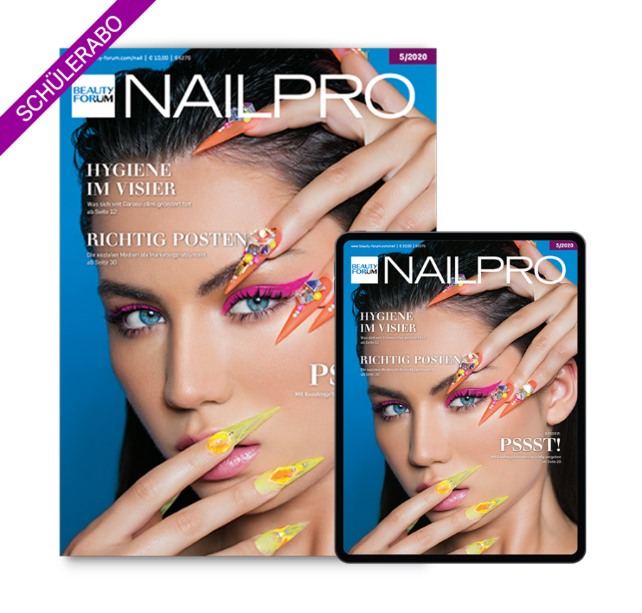 Nageldesign Schülerabo BEAUTY FORUM NAILPRO